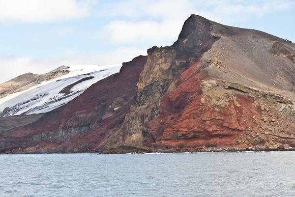 Arrival at Deception Island